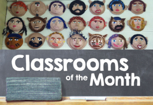 classrooms of the month