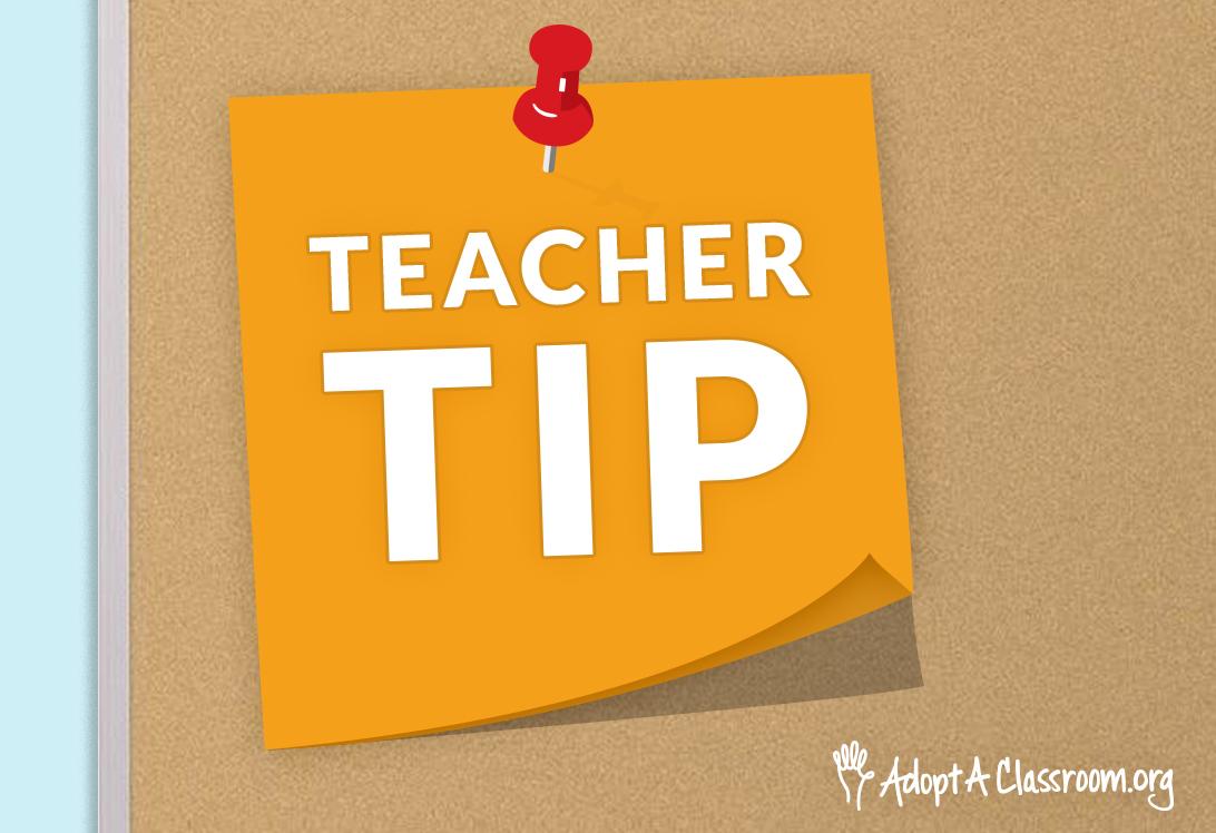 AAC Teacher Tip