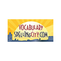 vocalbulary spelling city logo