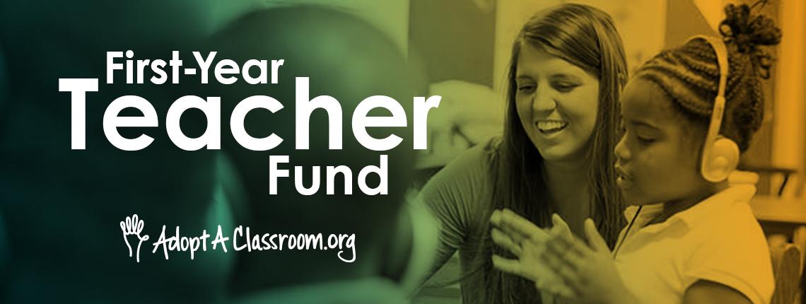 First Year Teacher fund Blog 2