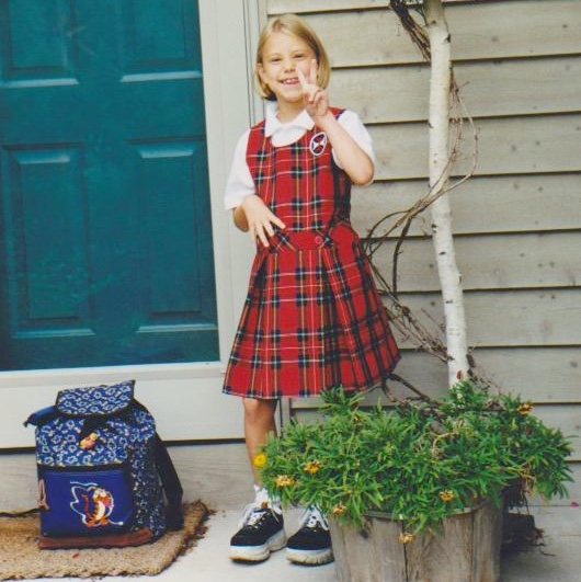 1999 shelby 1st day of school 2nd grade (1)