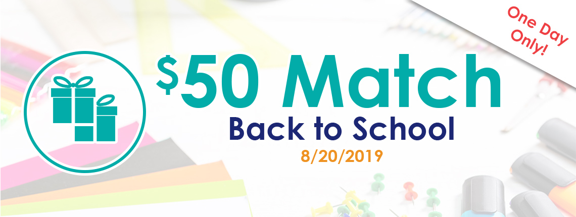 50 teacher and school classroom match on 8/20/2019
