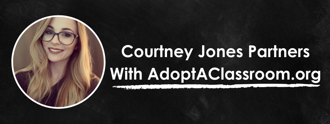 #ClearTheLists Founder Partners With AdoptAClassroom.org