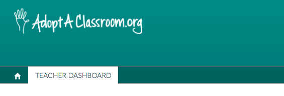 teacher dashboard main link