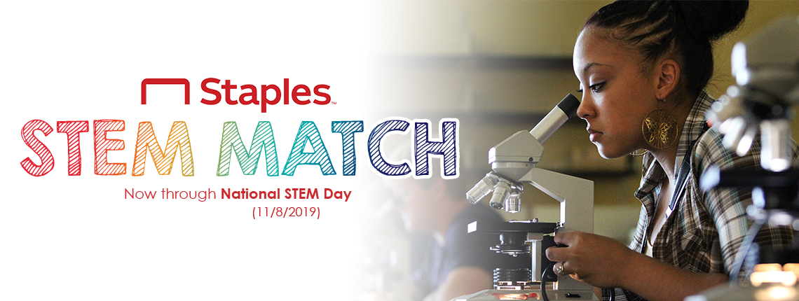 Staples STEM Match