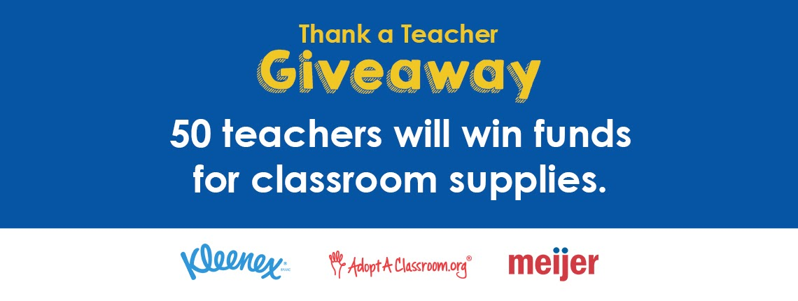 Nominate a Michigan Teacher to win $500