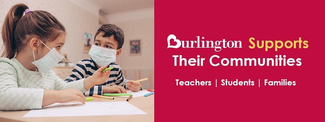 Burlington Stores Cares: Provides Funding for Thousands of Teachers' Supply Needs Nationwide