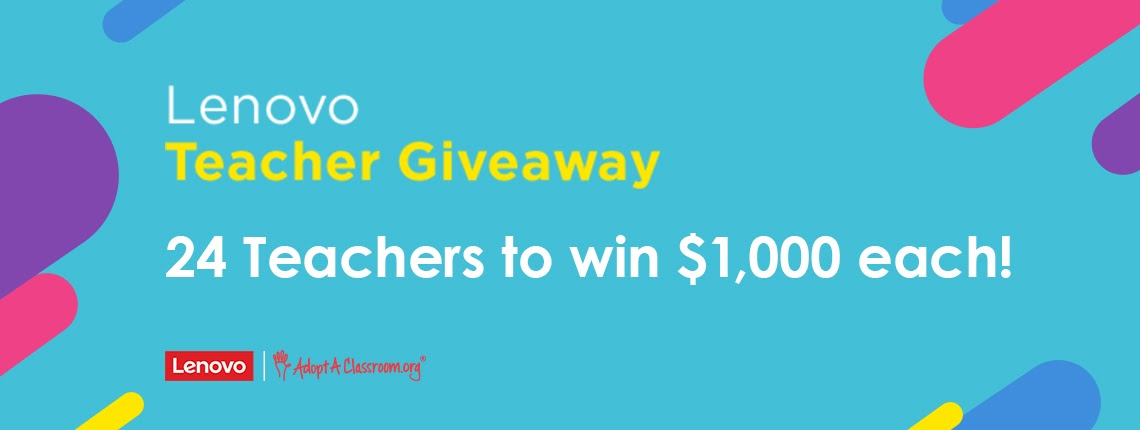 Lenovo Launches 13-Month National Sweepstakes to Support Teachers